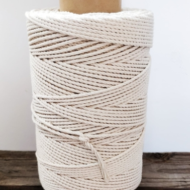 Macrame Rope Cord Cotton 4mm 1kg