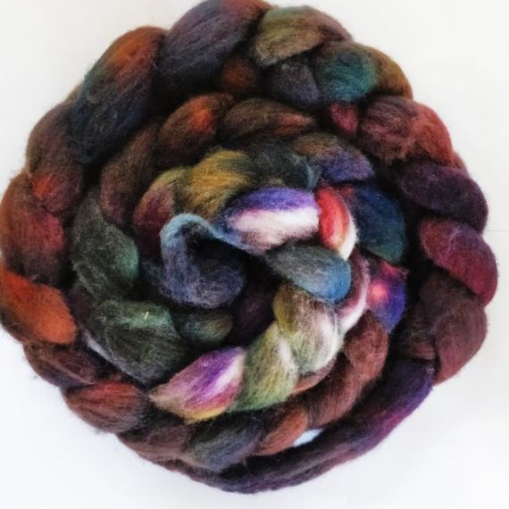 Hand Dyed Merino Roving - Shamba
