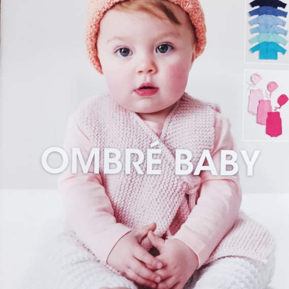 Patons Ombre Baby Pattern Book 1107