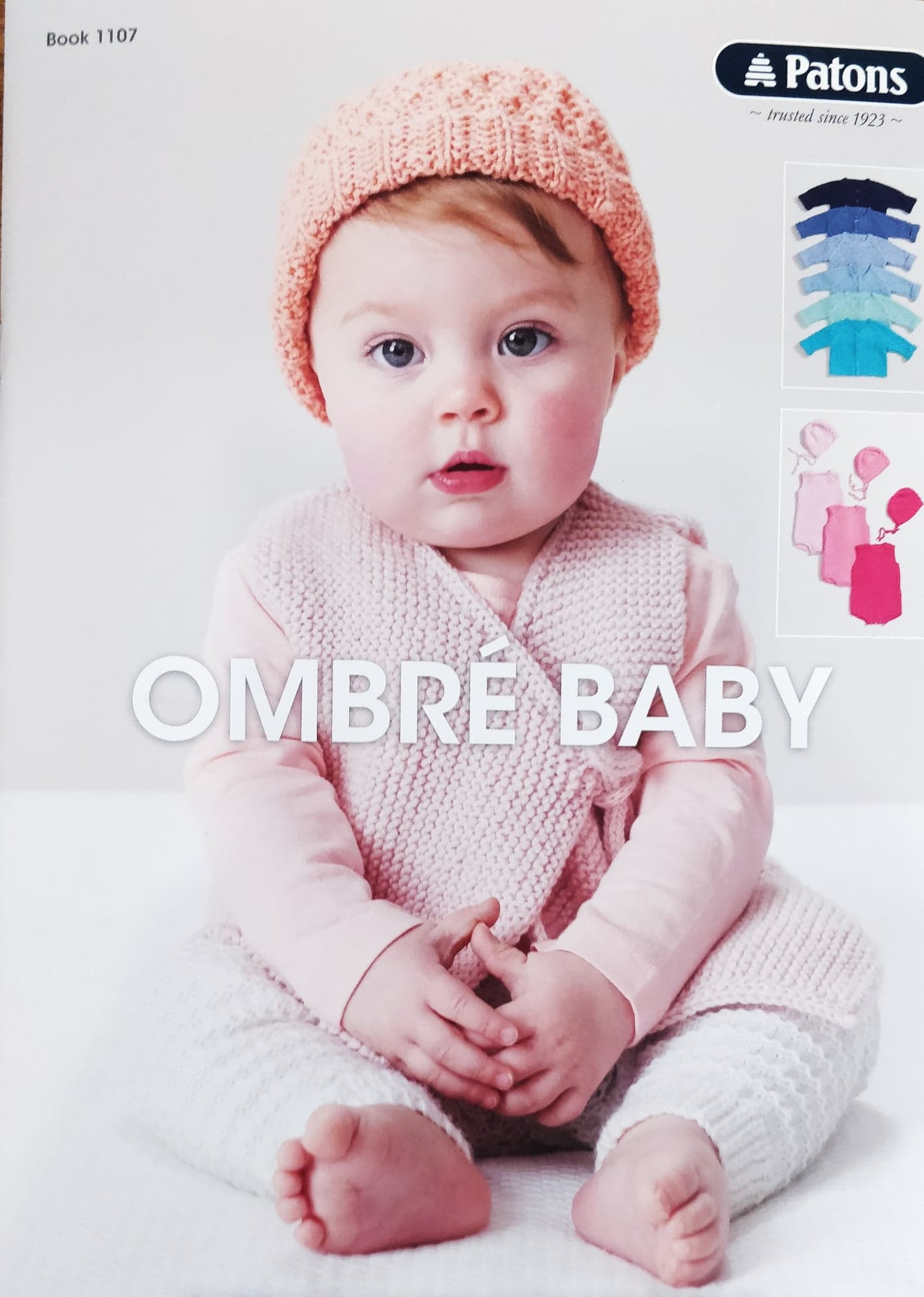 c2fc4e9772bb Buy Patons Ombre Baby Pattern Book 1107 · AfterPay Zip · The Wool Room