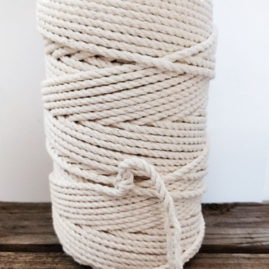 Macrame Rope Cord Cotton 7mm 1kg