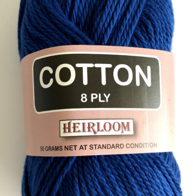 Heirloom Cotton 8 Ply - Azure Blue