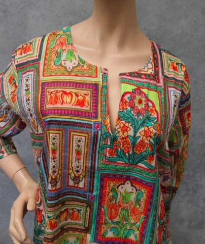 Cotton Kurta Top