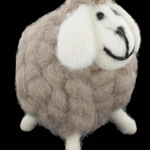Woolly Sheep Figurine
