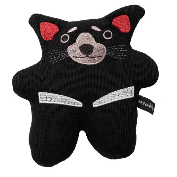 Envirowoolly Tassie Devil Wool Toy