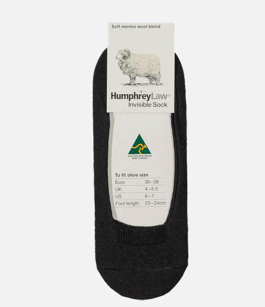 Merino Wool Blend Invisible Socks