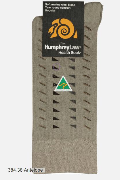 Humphrey Law Wool Socks - Diamond Eye