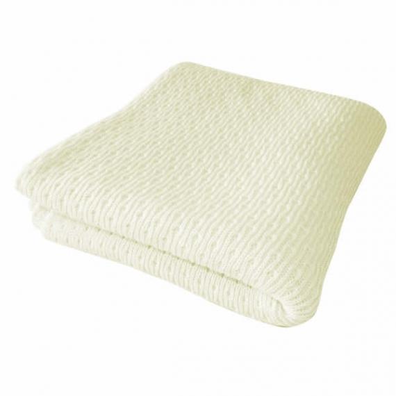 Merino Wool Vintage Baby Blanket Wrap