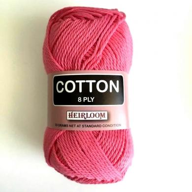 Heirloom Cotton 8 Ply - Blush