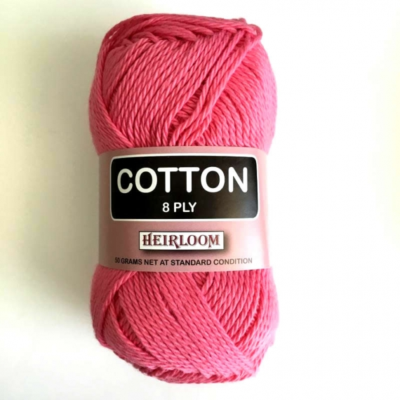 Heirloom Cotton 8 Ply - Blush