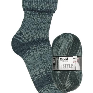 Opal 4 ply Sock Style - Green