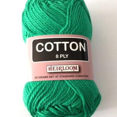 Heirloom Cotton 8 Ply - Snow