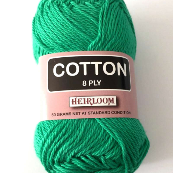 Heirloom Cotton 8 Ply - Snow