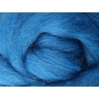 Corriedale Wool Roving 100gm - Lagoon