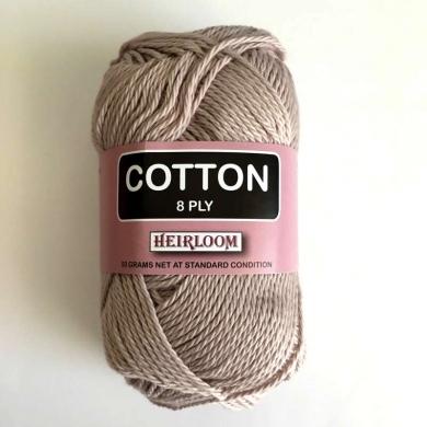 Heirloom Cotton 8 Ply - Oat