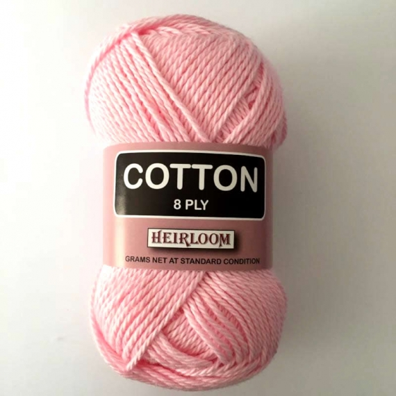 Heirloom Cotton 8 Ply - Parchment