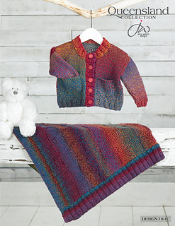 Queensland Collection Blanket & Cardigan Pattern