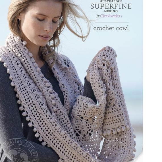 Cleckheaton Crochet Cowl Pattern