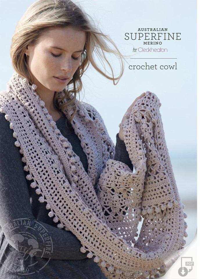 Buy Crochet Cowl Pattern Afterpay Zippay The Wool Room