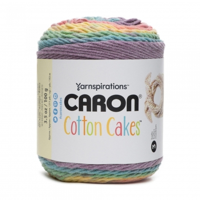 Caron Cotton Cakes 100g - Calico Flower