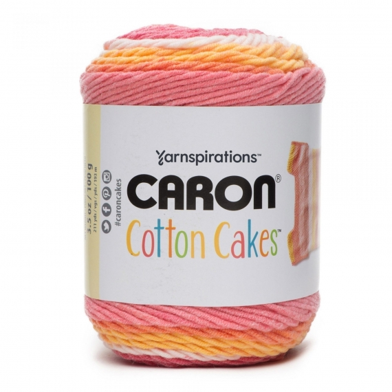 Caron Cotton Cakes 100g - Blushing Melon
