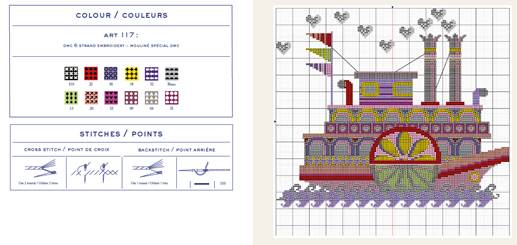 DMC Point de Croix Cross Stitch Book