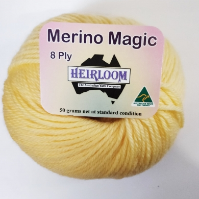 Heirloom Merino Magic 8 Ply - Ink navy