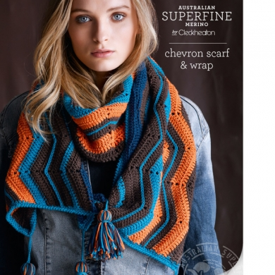 Crochet Chevron Scarf & Wrap 433