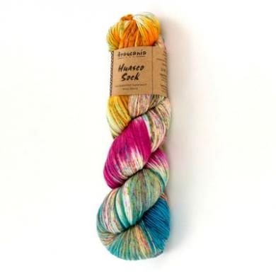 Araucania Huasco Sock Hand Painted - Guacamayo 1006