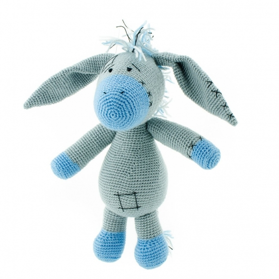 Crochet Donkey Toy
