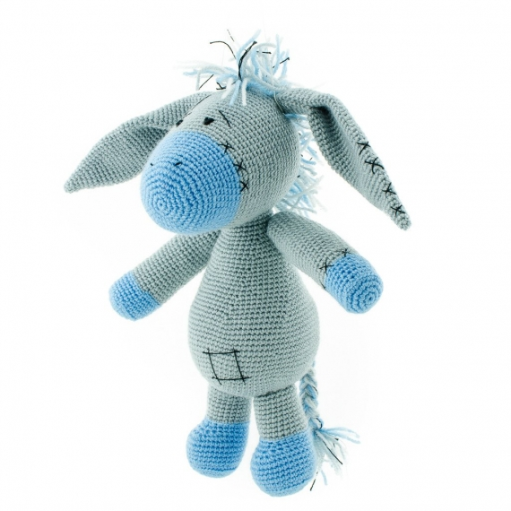 Crochet Donkey Toy