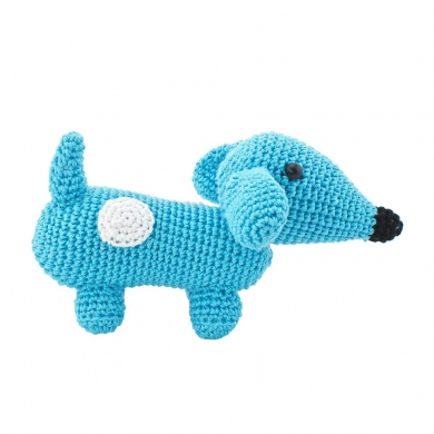 Crochet Dachshund Toy
