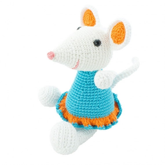 Crochet Mouse Toy