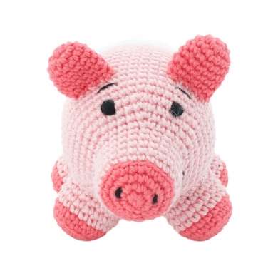 Crochet Pig Toy
