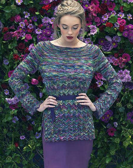 Louisa Harding Elderberry Sweater