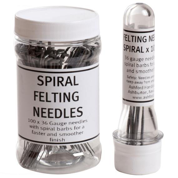 Felting Needle Spiral 10 Pack