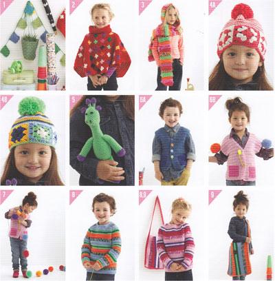 Shepherd Kids Crochet Book 2002
