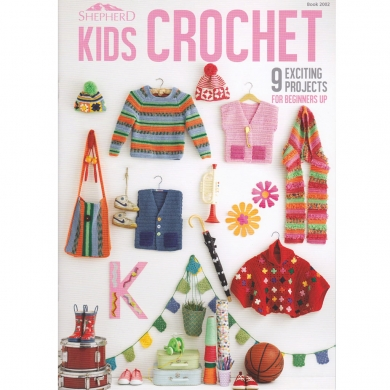 Shepherd Kids Crochet Book 2002