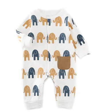 Elephant Long Sleeve Bodysuit