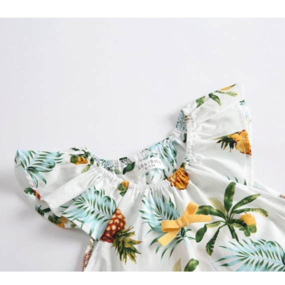 Pineapple Cotton Baby Romper