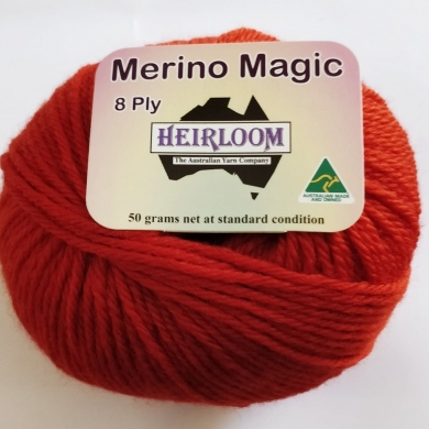 Heirloom Merino Magic 8 Ply - Denim