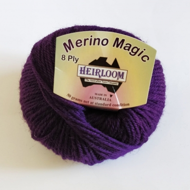 Heirloom Merino Magic 8 Ply - Baltic Grey