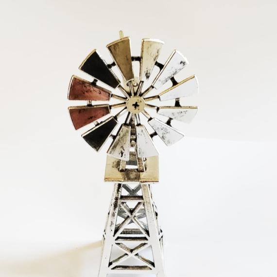 Metal Windmill 15cm