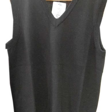 Woolanz Merino Wool Vest Black