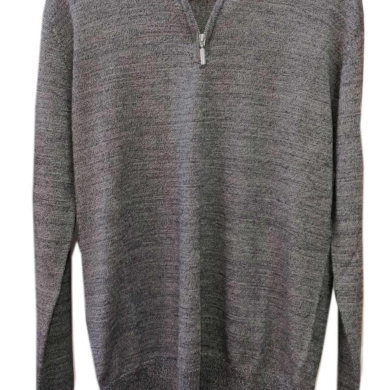 Jack Savage Merino Wool Zip Neck Jumper