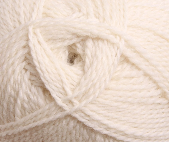 Ashford Tekapo 8 Ply 100g Natural White