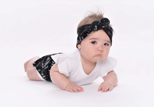 Aster & Oak Mono Combi Topknot Headband