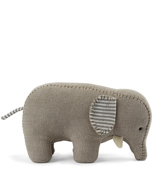 Ellie Elephant Knitted Toy