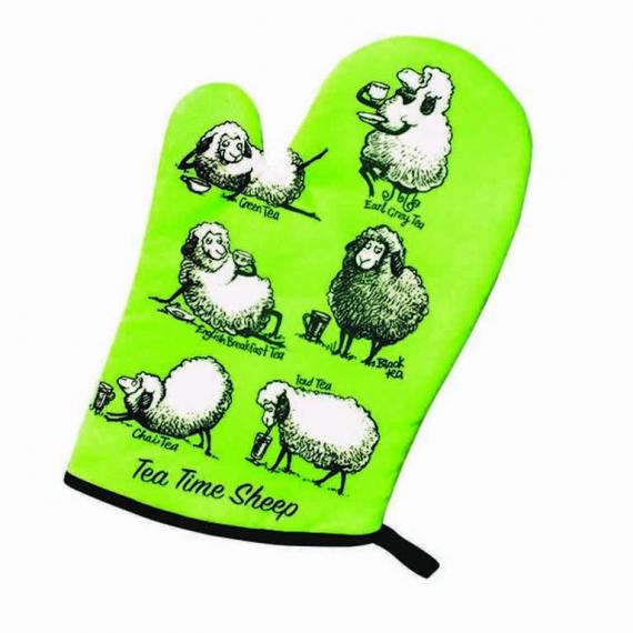 Tea Time Sheep Oven Mitt