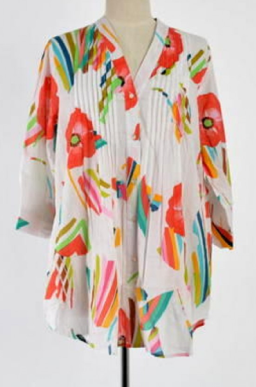 Mozaic Palm Cove Shirt Top